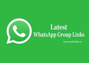 latest whatsapp group join links list